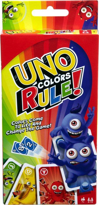 UNO Kleuren - Kaartspel