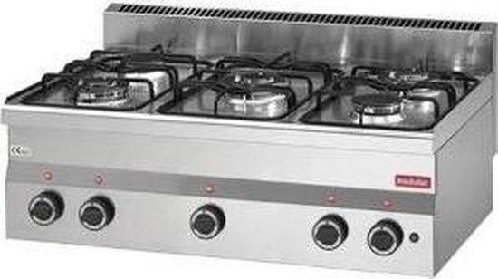 Modular 600 gaskooktoestel 5 branders