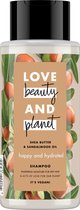 Love Beauty and Planet Shampoo Happy and Hydrated Shea Butter & Sandelwood Oil Shampoo - 400 ml