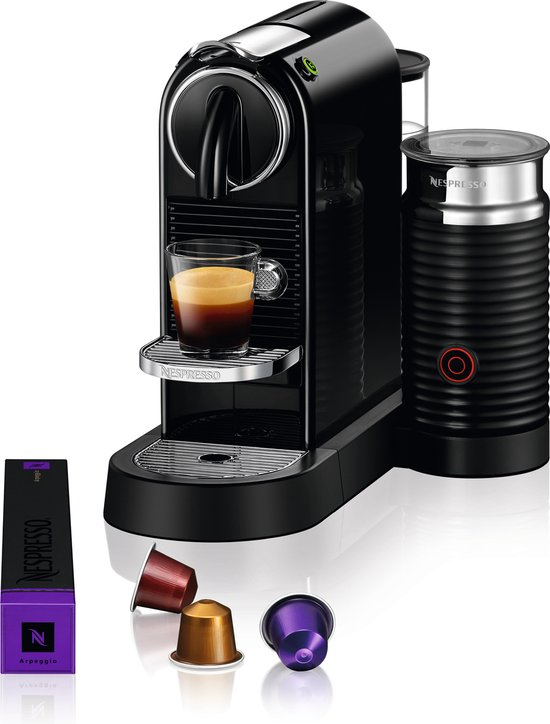 Magimix Nespresso M196 CitiZ & Milk - Koffiecupmachine - New black