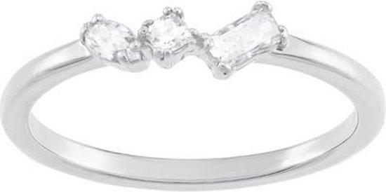 Swarovski Frisson White Ring  - Zilver