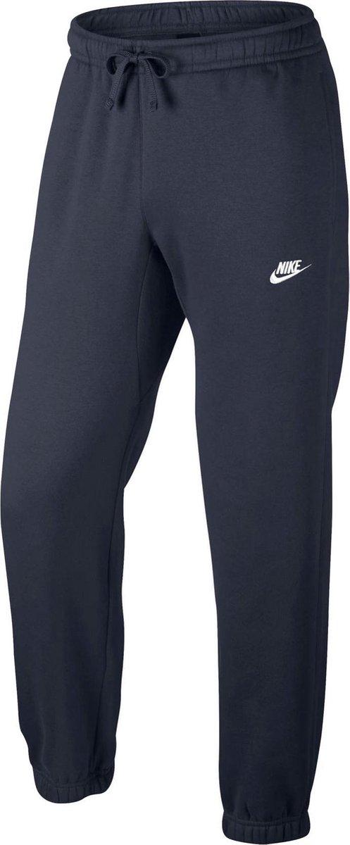 Nike Sportswear Pant CF Fleece Club Sportbroek Heren ObsidianWhite