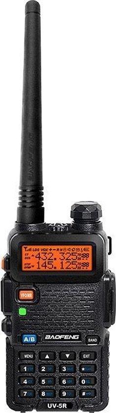Portofoon | Walkie talkie | UV-5R (UHF & VHF - 5W)