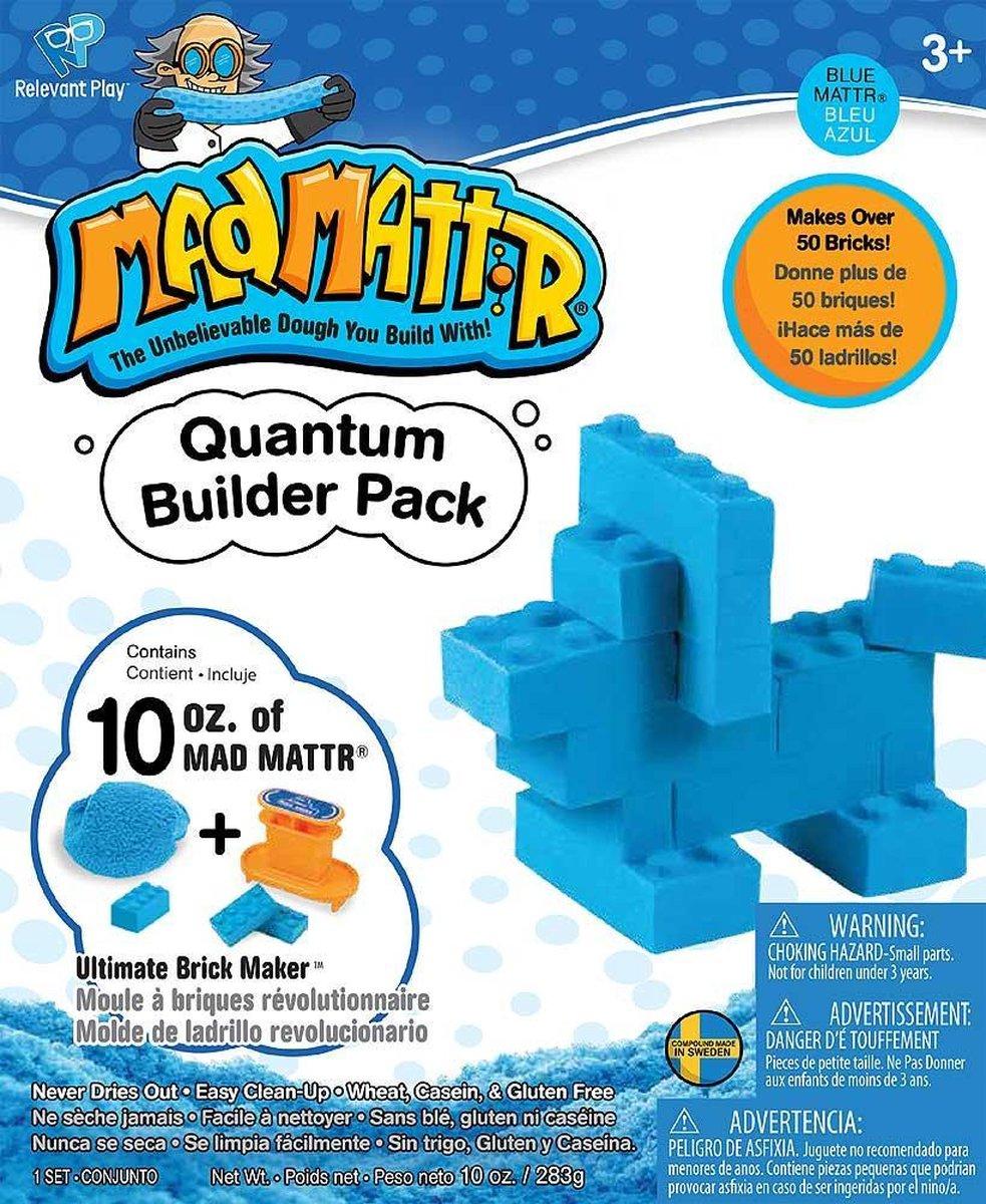 MadMattr Quantum Builders Pack Blauw + Brick Maker (283 gram