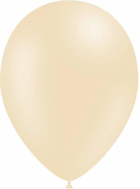 Ivoorkleur Ballonnen 30cm 10 stuks