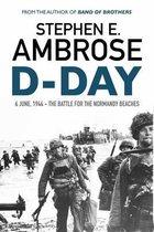 Boek cover D-Day van Stephen E. Ambrose