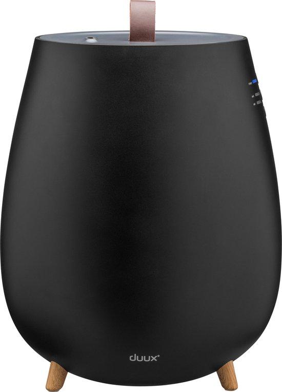 Duux Tag Ultrasone luchtbevochtiger zwart | 2.5 L | 250 ml/uur | Design