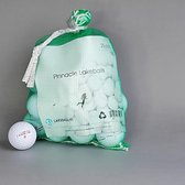 Golfballen gebruikt/lakeballs Pinnacle 25 stuks in meshbag