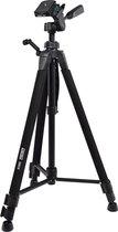 DESQ® Foto-Video Statief 323 | 3 secties | Zwart | Incl. draagtas en quickshoe 1330 mm