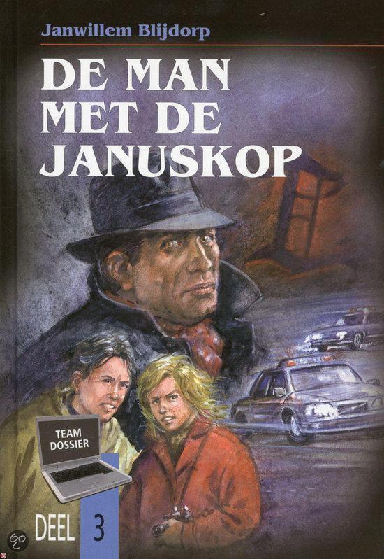 Cover van het boek 'De man met de januskop' van Jan Willem Blijdorp