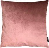 Velvet Oudroze Kussenhoes   Fluweel - Polyester   45 x 45 cm   Roze