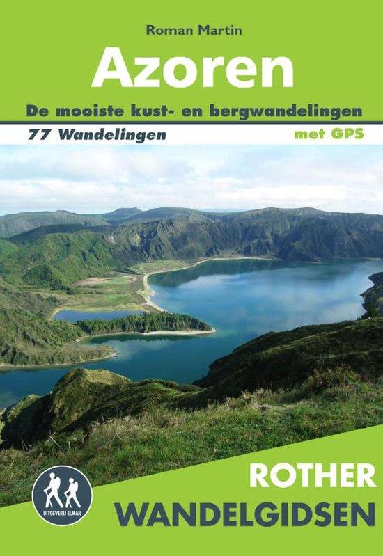 Rother Wandelgidsen - Azoren - Roman Martin |