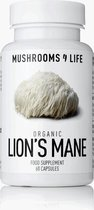 Mushrooms4Life / Lion's Mane biologisch paddenstoel supplement – 60CAPS