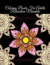 Coloring Books For Adults Relaxation Mandala