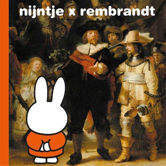 Boek cover nijntje x rembrandt van Dick Bruna (Hardcover)