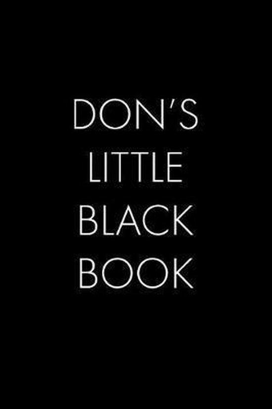 Don's Little Black Book