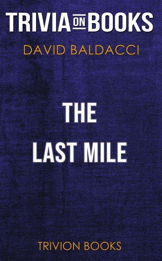 Boekomslag voor The Last Mile by David Baldacci (Trivia-On-Books)