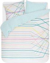 Esprit Teon - Dekbedovertrek - Tweepersoons - 200x200/220 cm + 2 kussenslopen 60x70 cm - Multi kleur