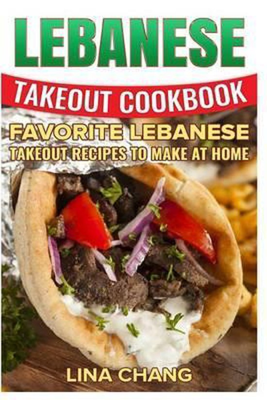 Lebanese Takeout Cookbook - Black and White Edition