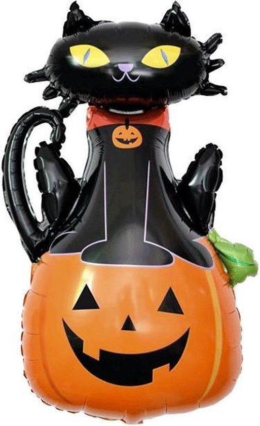 1 Ballon Halloween Pompoen | Halloween Decoratie