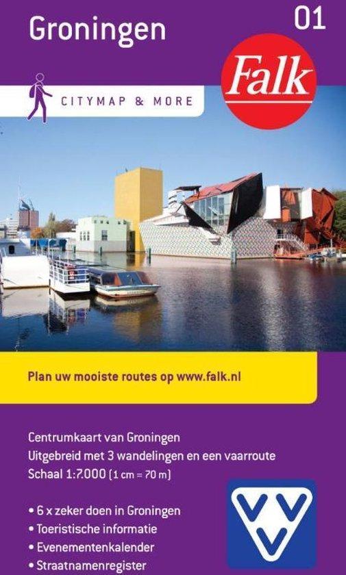 Cover van het boek 'Groningen Citymap and more  1:12.500'