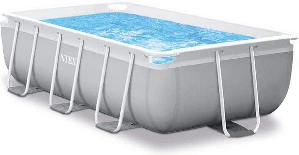 Intex Prism Frame zwembad 300 x 175 x 80 cm - met reparatiesetje