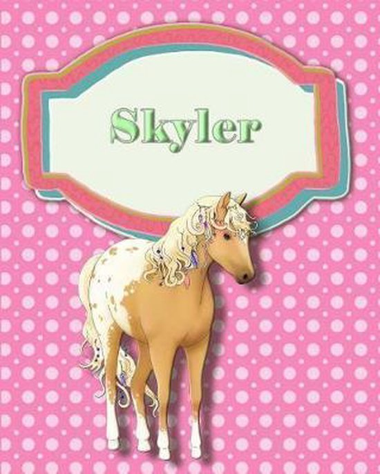 Handwriting and Illustration Story Paper 120 Pages Skyler