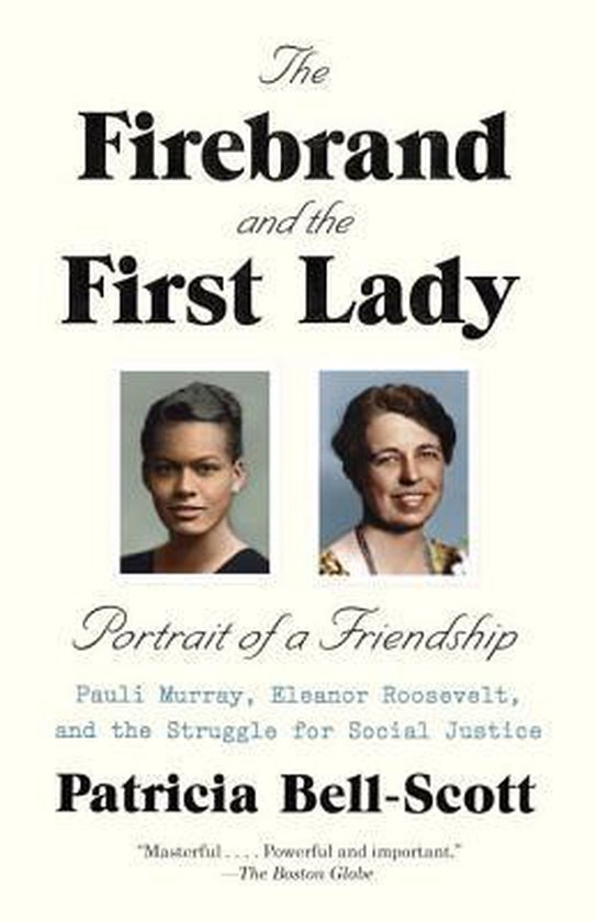 Boek cover The Firebrand and the First Lady: Portrait of a Friendship van Patricia Bell-Scott (Paperback)