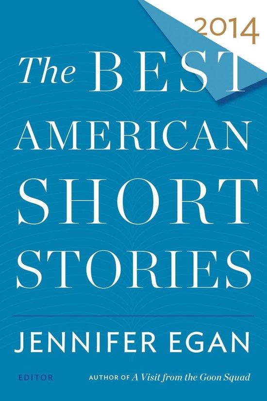 Omslag van The Best American Short Stories 2014