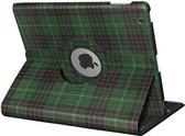 Apple iPad Hoes - 360° Draaibaar - Voor de iPad Air 2 -  Schotse Ruit 'The Kilt' - Uniek Design