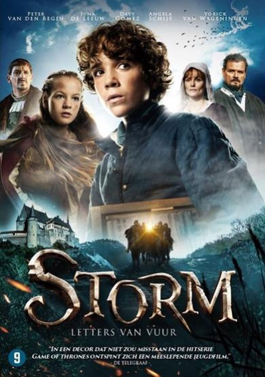 Dvd - Storm, letters van vuur - Dvd