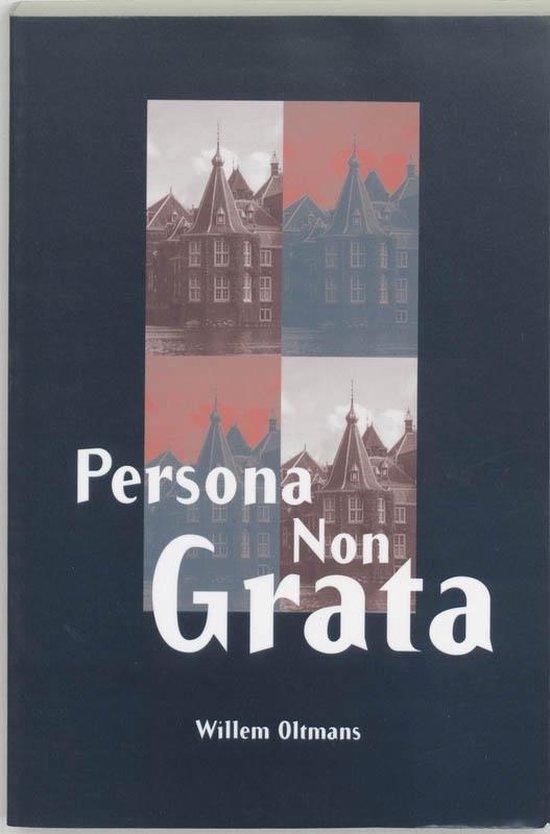 Cover van het boek 'Persona non grata'