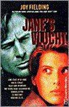 Boek cover Janes vlucht (pocket) van Fielding