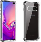 Samsung S10 Plus Hoesje Transparant - Samsung Galaxy S10 Plus Hoesje Transparant Shock Proof Case Hoes Cover