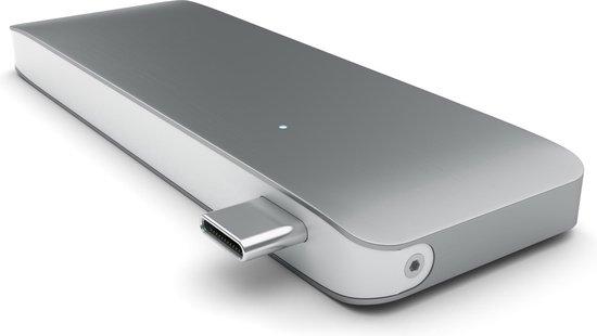 Satechi Type-C USB Passthrough Hub - Space Grey - Satechi