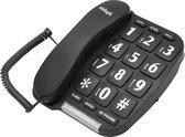Aidapt Big Button - Vaste telefoon - Zwart