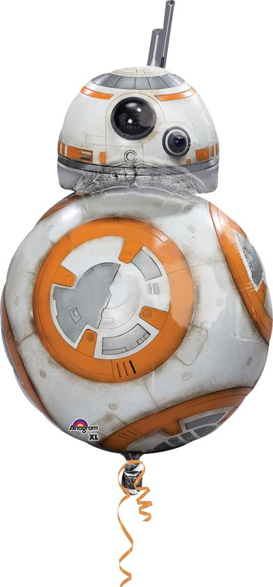 Star Wars Helium Ballon BB-8 XL 83cm leeg