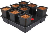Wilma Growsystem XXL 8 complete - 18 liter containers