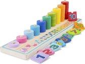 New Classic Toys Educatief Spel Leren Tellen van 1 t/m 10