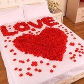 Mooie rode rozenblaadjes 520st van SDE-Commerce - Kunst rozen blaadjes (feest, huwelijk, verjaardag, valentijnsdag etc.)