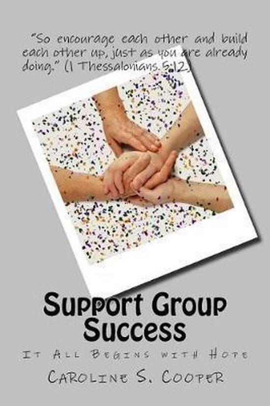 Boek cover Support Group Success van Caroline S Cooper (Paperback)