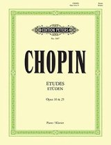 ETUDES CHOPIN OPUS 10 & 25