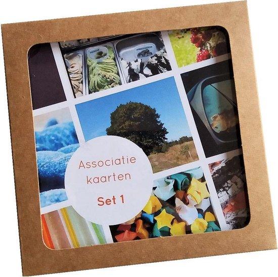 Afbeelding van het spel Associatiekaarten set 1 coachkaarten werkvorm