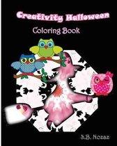 Creativity Halloween Coloring Book