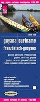 Reise Know-How Landkarte Guyana, Suriname, Französisch-Guayana