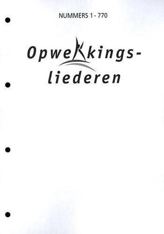 Tekstblad opwekking gr.let. 759-770 - Opwekkingsliederen |