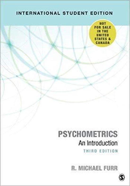 Boek cover Psychometrics van Richard Michael Furr (Paperback)