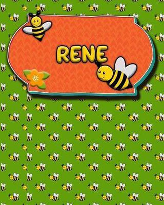 Handwriting Practice 120 Page Honey Bee Book Rene