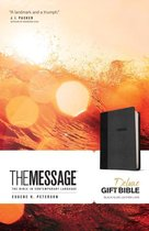 Message Deluxe Gift Bible, Black