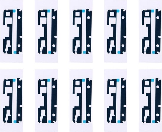 Let op type!! 10 PCS for Sony Xperia XA Top & Bottom Front Housing Adhesive